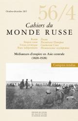 Cahiers du monde russe, n°56/4