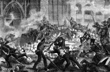 La révolte des canuts (1831)