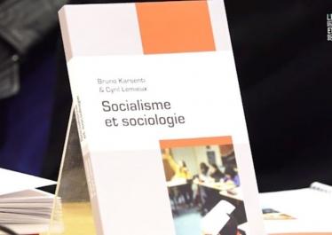 """Couverture """"Socialisme et sociologie"""" (Éditions de l'EHESS, 2017)"""
