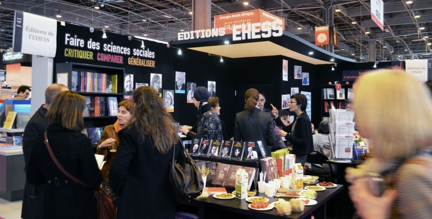 Salon du livre de paris 2017 ehess for Salon du batiment paris